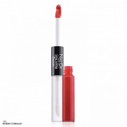 Long Lasting Duolips 101 - Rossetto Liquido Lunga Tenuta Nail Or Make Up