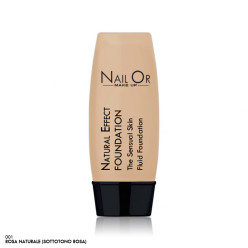 Natural Effect Foundation 001 - Fondotinda (sottotono rosa) - Nail Or Make Up