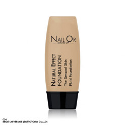 Natural Effect Foundation 004 - Fondotinda (sottotono giallo) - Nail Or Make Up