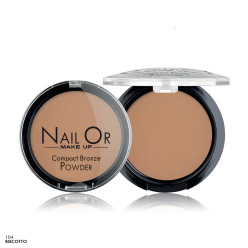 Compact Bronze Powder 104 - Terra Compatta Abbronzante - Nail Or Make Up