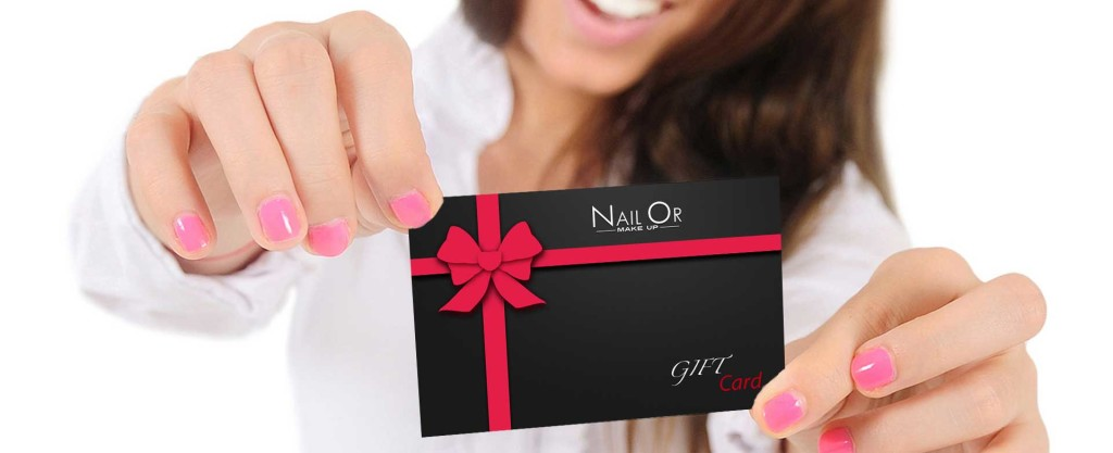 Gift Card - Nail Or Make Up