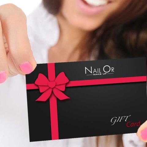 Gift Card - Nail Or Make Up